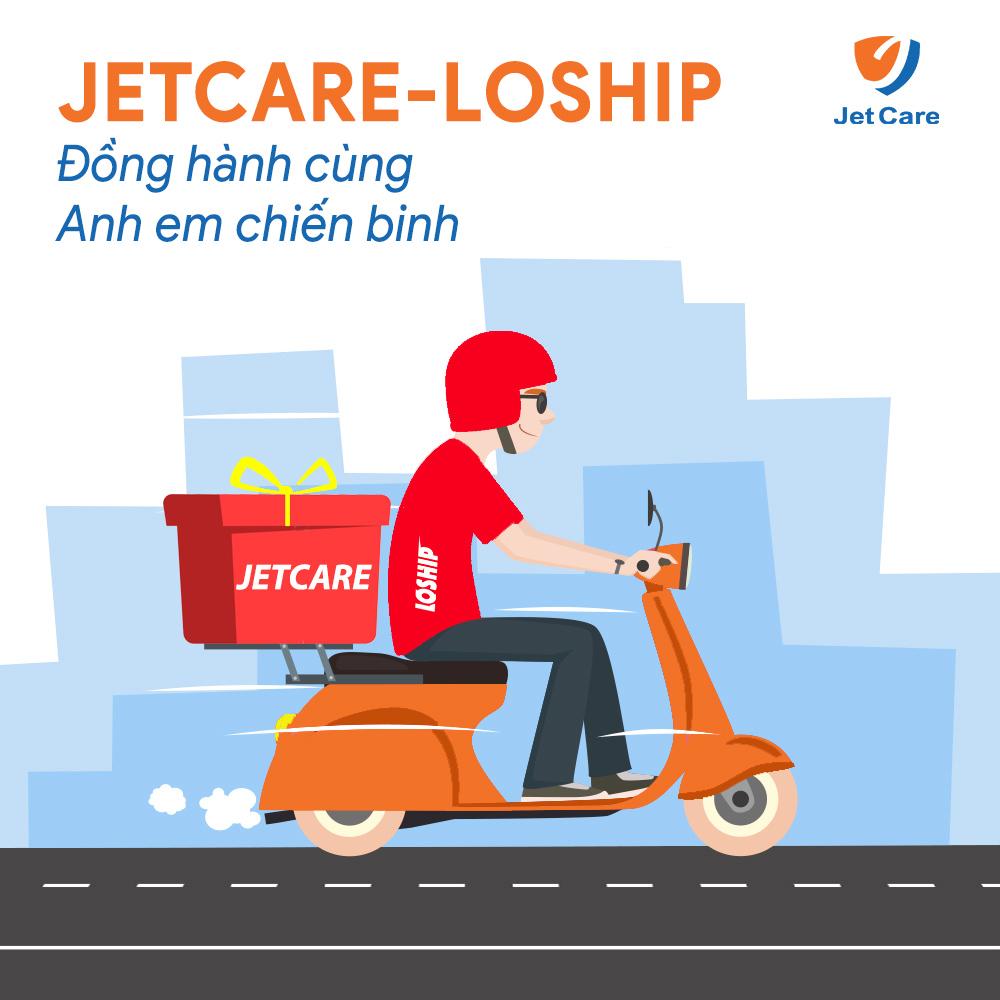 Jetcare hợp tác Loship đồng hành cùng Anh em chiến binh